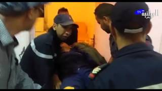 getlinkyoutube.com-الوطنية بريس - وصول أول حالة إغماء في صفوف معتصمو منجم عوام بمريرت إلى المستشفى المحلي