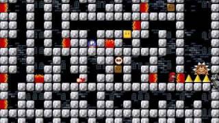 getlinkyoutube.com-Super Mario Bros. X - Custom Level: Mini Fortress