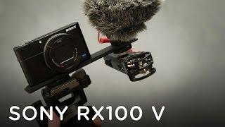 getlinkyoutube.com-HOW TO GET AUDIO WITH THE SONY RX100 V
