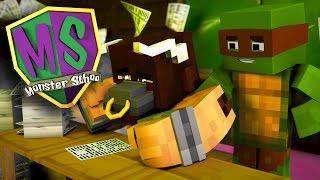 getlinkyoutube.com-Minecraft Monster School - THE NEW BIG BAD BULLY!?
