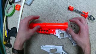 getlinkyoutube.com-How To: The ULTIMATE Nerf Doubledown Mod Guide (Extra Spring)