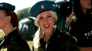 getlinkyoutube.com-Группа «Блестящие». Клип «Брат мой десантник»  VDV Anna Semenovich