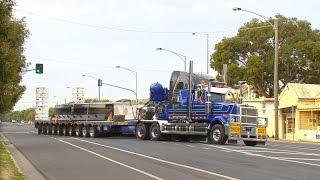 getlinkyoutube.com-Mega Truckers : Heavy Haulage Australia in Bendigo