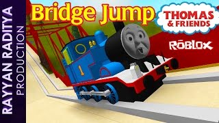 getlinkyoutube.com-Thomas and Friends - The Great Race | Thomas Bridge Jump Roblox Remake