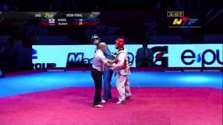 getlinkyoutube.com-[S-Final Male] KOREA vs RUSSIA   2014 WTF WORLD CUP TAEKWONDO TEAM CHAMPIONSHIPS