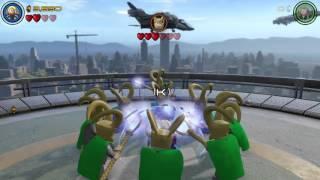 getlinkyoutube.com-LEGO Marvel's Avenger: Thor vs Loki Battle/Fight
