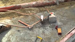 getlinkyoutube.com-Installation Grounding System (Ground rod With Bare Copper )