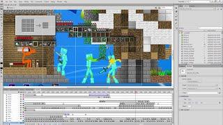 getlinkyoutube.com-Behind the Scenes - Animation vs. Minecraft