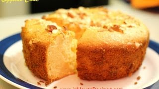 getlinkyoutube.com-Eggless Cake In Oven or Microwave Convection