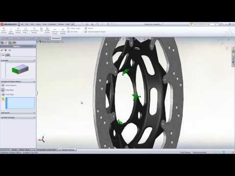 SolidWorks Education SAE Thermal Stress