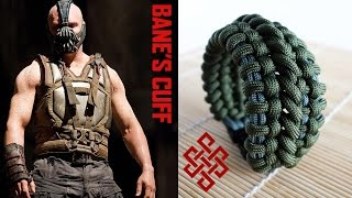 getlinkyoutube.com-How to Make the Bane's Cuff Paracord Bracelet with Buckles Tutorial