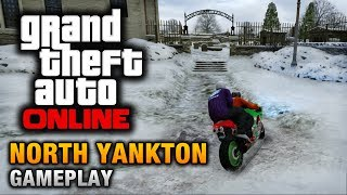 getlinkyoutube.com-GTA Online - North Yankton Gameplay (How to reach North Yankton)