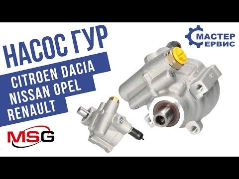 Насос ГУР ... C5, Dacia Logan, Nissan Interstar, Opel Movano, Vivaro, Renault Avant OP 006
