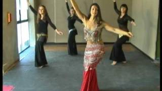 getlinkyoutube.com-Pasos básicos de la danza Árabe, Camello, Leila Loberse