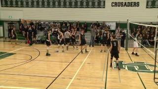 Saskatoon High School Volleyball Finals - Boys