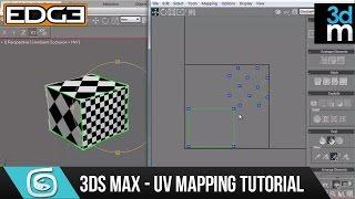getlinkyoutube.com-3ds Max Tutorial - UV Unwrap for Beginners HD by 3dmotive