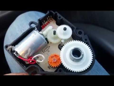 Расположение вентилятора печки в Mercedes-Benz M