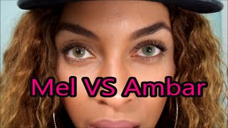 New! Solotica Mel VS. Ambar 2016 Comparison/ Natural LIght, White light