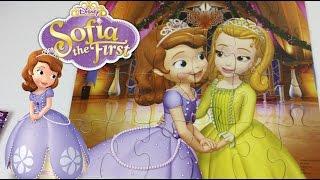 "getlinkyoutube.com-Rompe Cabezas ""Puzzle"" De la Princesa Sofia The First  Mundo de Juguetes"