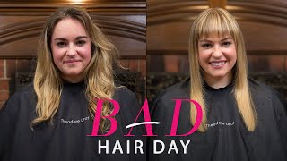 getlinkyoutube.com-Why Bangs May Be The Fastest (and Chicest) Way Out of a Hairstyle Rut—Glamour's Bad Hair Day