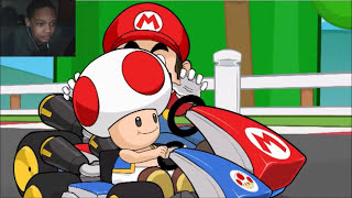 getlinkyoutube.com-[WARNING GOREY CONTENT] Racist Mario REACTION   RACE TRAITORS!