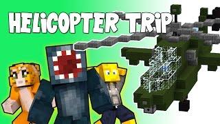 getlinkyoutube.com-Minecraft - Crazy Craft 2.2 - Helicopter Trip! [50]