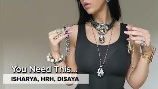 getlinkyoutube.com-LUXE STATEMENT JEWELRY | Isharya, HRH Collection, Disaya