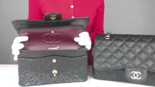 getlinkyoutube.com-How to Spot a Fake Chanel 2.55 Bag (Secret Vintage Collection)