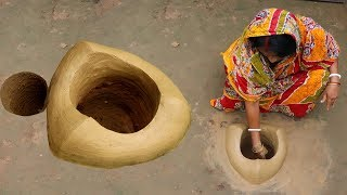 Bangali  POTOL KHASHI Recipe Cooking by our Grandmother   Village Food Pointed Gourd Recipe width=