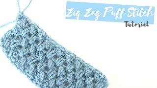 getlinkyoutube.com-CROCHET: How to crochet the Zig Zag puff stitch | Bella Coco