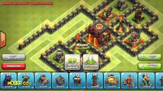 Kauf von Mauer lvl 11 | Heros auf lvl 30 Upgraden | Neue Champion Base | Besuchstag mit Möser