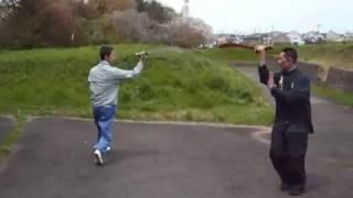 getlinkyoutube.com-中国拳法(対練②〈八極・八卦〉)