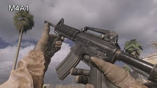 getlinkyoutube.com-Call of Duty: Modern Warfare Remastered - All Weapons, Reloads, Inspect Animations and Sounds