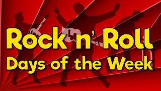getlinkyoutube.com-Rock n' Roll Days of the Week   Fun Math Song for Kids   Jack Hartmann
