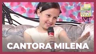 getlinkyoutube.com-Na intimidade com a cantora Milena (09/10/2014)