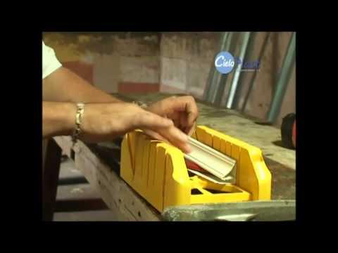 Pasos para la instalación de la tablilla PVC Cielo Plast