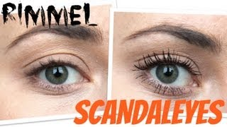 getlinkyoutube.com-TEST: RIMMEL SCANDALEYES VOLUME FLASH MASCARA