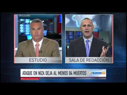 Telemundo Noticias interview with Technon CEO about attack in Nice