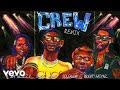 GoldLink - Crew REMIX Audio ft. Gucci Mane, Brent Faiyaz, Shy Glizzy