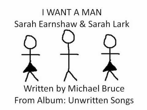 I Want A Man - Sarah Earnshaw and Sarah Lark (Animated Video)