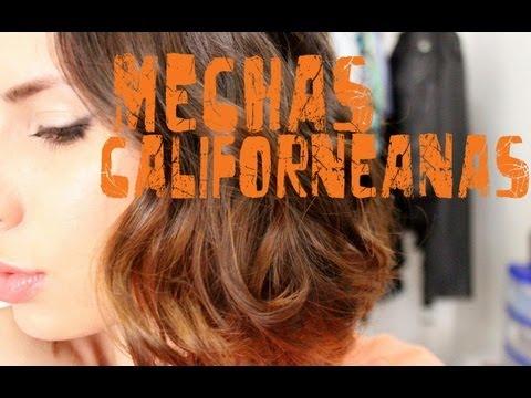 ¿Cómo hacer Mechas Californianas en cabello CORTO?/ ¿How to Ombre Hair in SHORT hair?