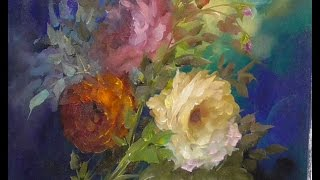The Beauty of Oil Painting. Live Demonstration