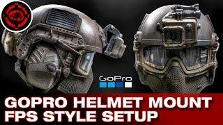 getlinkyoutube.com-GoPro Helmet Mount How To