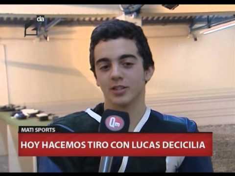 MATI SPORTS-TIRO CON RIFLE DE AIRE COMPRIMIDO - LUCAS DECICILIA