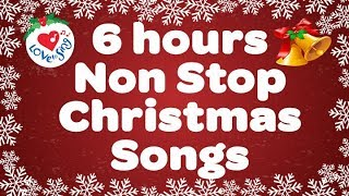 BEST CHRISTMAS SONGS & Most Popular Christmas Song Playlist 6 hours - Merry Sing Along Christmas