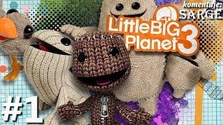 getlinkyoutube.com-Zagrajmy w Little Big Planet 3 [PS4] odc. 1 - Nowe przygody Sackboya
