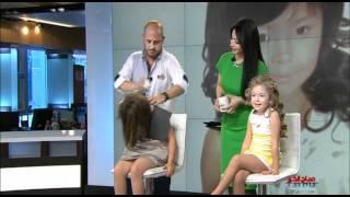 getlinkyoutube.com-صباح الخير ياعرب - تسريحات شعر للفتيات الصغيرات
