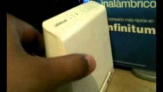 getlinkyoutube.com-Modem Router Inalábrico WIFI Huawei HG530 TELMEX