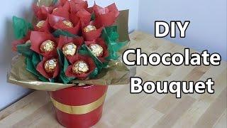 getlinkyoutube.com-Chocolate Bouquet | NERDI diy