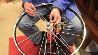 getlinkyoutube.com-How to build a generator bicycle wheel.